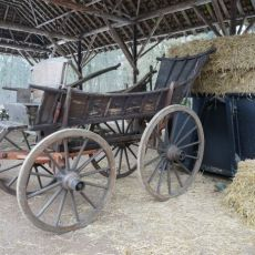 Farmers Working Carriage