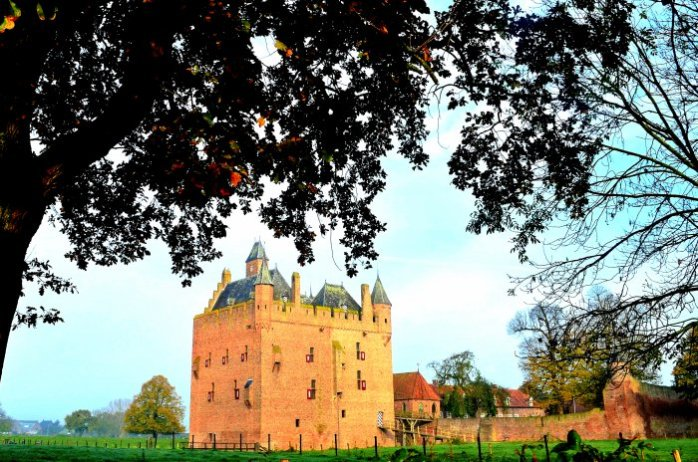 Castle Doornenburg Destroyed and Rebuild in full Glory