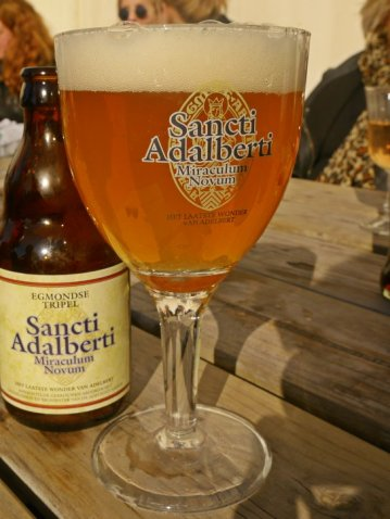 Beer from the Abbey of Egmond Binnen.