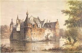 Artists Impression of the Castle of Egmond