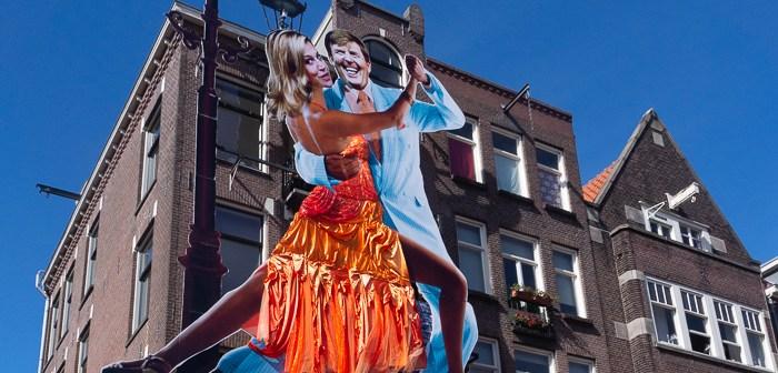 Visit Holland on the Dutch King's Day Cafe De Blaffende Vis
