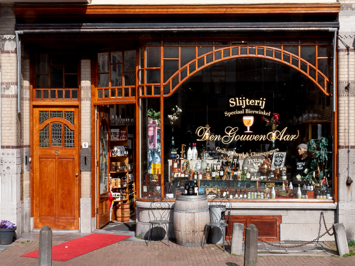 Daytrip to Gouda, Cheese, Culture and History. Vintage Dutch liquor store.