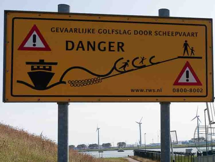 Rotterdam Beach and the Maeslantkering Danger