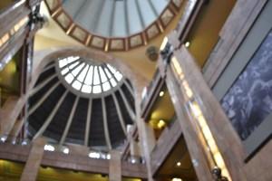 Dos domos del Palacio de Bellas Artes