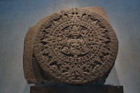 The Aztec Calendar at The Anthropology Museum