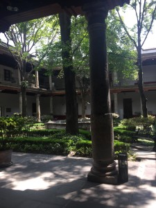 The Franz Mayer Museum interior Garden