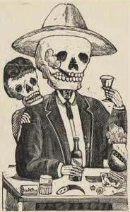 Calavera Alcoholica