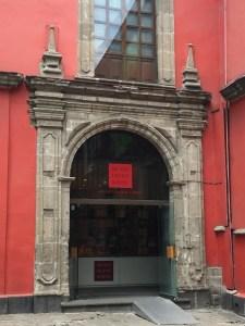 Entrada al museo Franz Mayer
