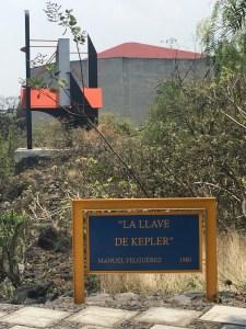 La llave de Kepler, del artista Manuel Felguérez, uno de los creadores del Espacio Escultórico
