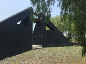 """Ocho conejos"" by artist Federico Silva one of the creators of the Sculptural Space UNAM"