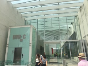 Museo Universitario de Arte Contemporáneo en el Centro Cultural Universitario de la UNAM