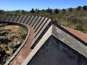 Sculptural Space at The UNAM