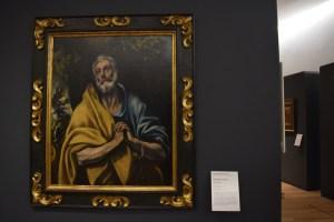 Doménikos Theotokópoulos, El Greco (Grece, 1540-España, 1614). Tears of Saint Peter c 1587-1596