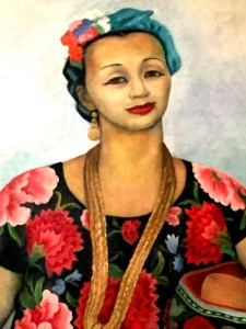 Tehuana Dolores Olmedo Portrait 1955