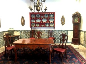 One of the Franz Mayer Museum's dining room collections