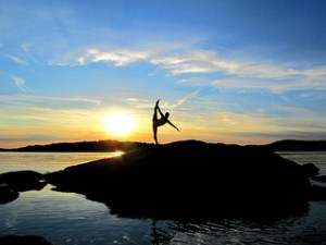 Sweden Sun setting