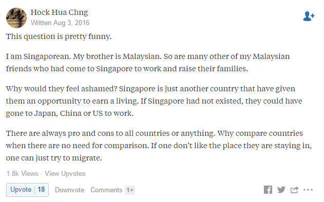 quora thread sg