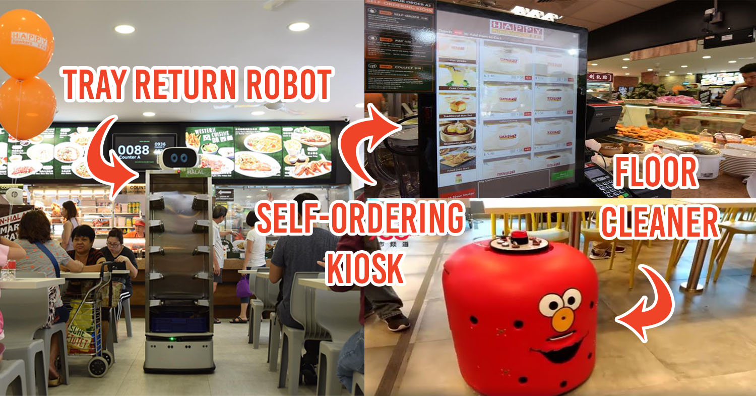 New Fast Food Automation