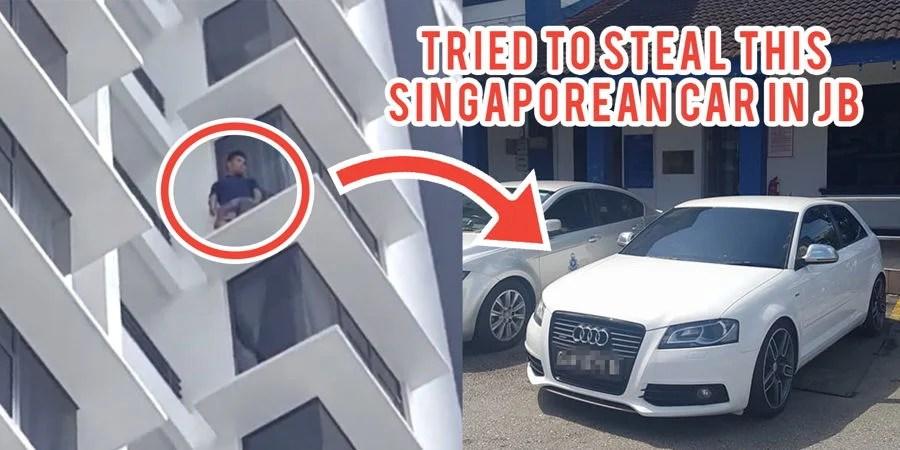 Singaporean Loses Audi At JB Carwash Tracks Down Thief To Find - Audi car wash