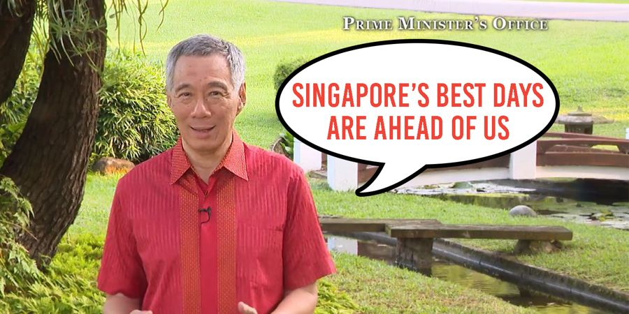 PM Lee s 2018 New Year Speech Focused On ASEAN  The MRT  And Sir     PM Lee s 2018 New Year Speech Focused On ASEAN  The MRT  And Sir Stamford  Raffles