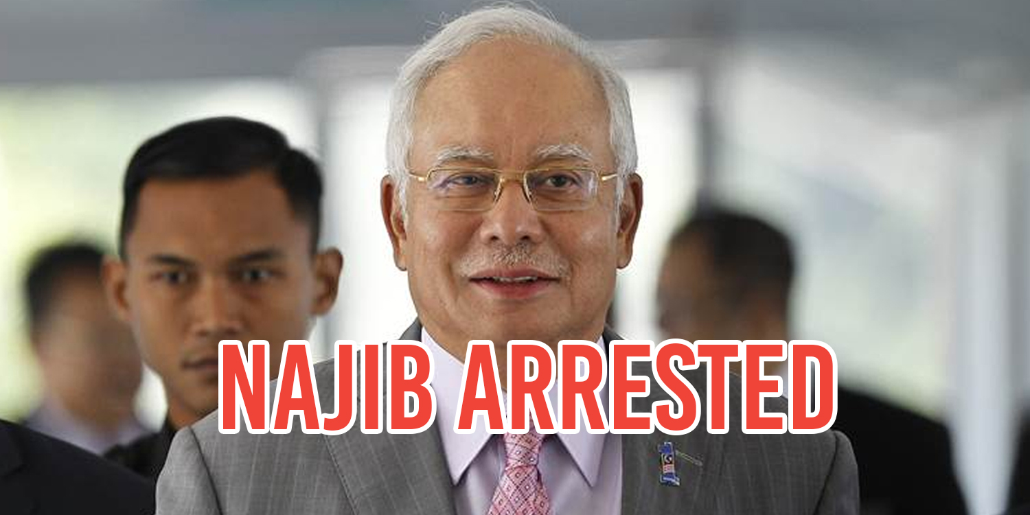 Image result for Najib Razak arrested