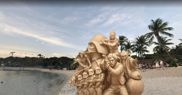 Sentosa Will Have 20 Massive Star Wars Sand Sculptures Till 15 Sep & You Can Visit Them For Free
