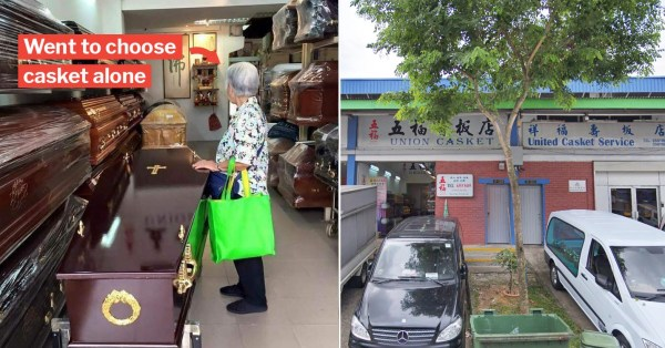 Ah Ma Chooses Own Casket In Toa Payoh After Her Son Passes Away & The Internet Is Crying