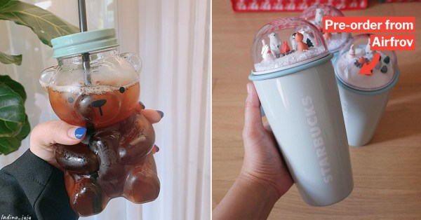 Starbucks Korea Releases Polar Bear Mugs & Tumblers So Cute, You Can't Bear To Drink From Them