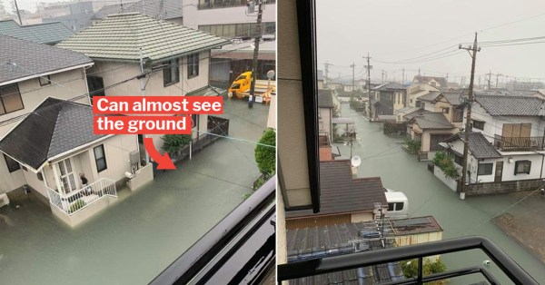 Clean, Rubbish-Free Flood Water In Aftermath Of Japan Typhoon Impresses Netizens