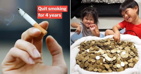 Ex-Smoker 'Fines' Himself S$4 Each Time He Has Cravings, Amasses S$7,800 Fortune After 4 Years
