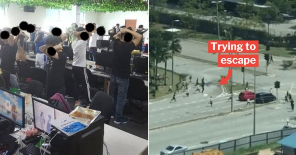 Scammers In KL Tried Jumping From Windows To Escape The Long Arm Of M'sian Immigration Officers