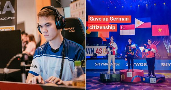 Thomas Kopankiewicz Wins S'pore's 1st SEA Games Esports Silver Medal After Giving Up Old Citizenship