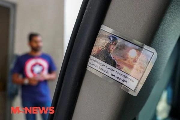 This Grab Car Has Dank Marvel Memes Charging Pods Personal