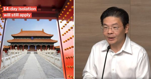 S'pore Will Consider Allowing Visitors From China If Situation Stabilises, Says Lawrence Wong