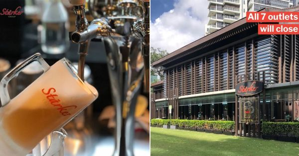 Starker Bistro & Bar Is Closing All Its Outlets & S'poreans Are Sad To See Them Go