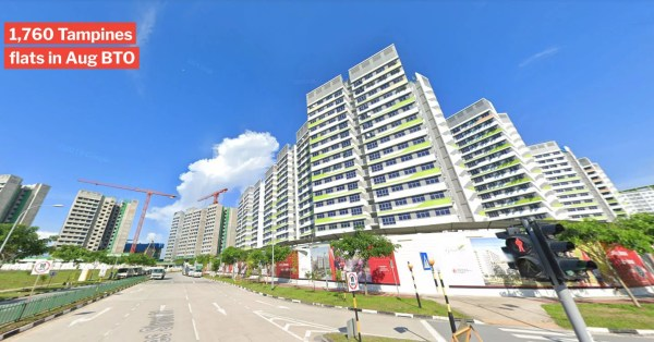 Elusive Tampines, Bishan & Ang Mo Kio Flats Up For Grabs In Aug BTO Launch