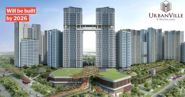 Woodlands UrbanVille BTO Has A Sky Bridge & Roof Terraces, S'poreans Wanna Move There Now