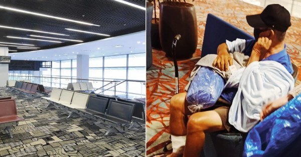 Changi Airport Opens Lounge To Homeless Folks On Cold Night, Receives Thanks For Compassion