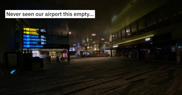 Empty Changi Airport T3 Gives Apocalyptic Vibes, Redditor Claims 95% Shops Closed
