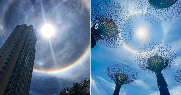 Massive Sun 'Halo' Graces S'pore Skies On 22 Sep, Protect Your Eyes When Looking Up
