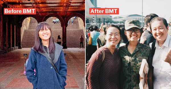 I Chose To Enlist For BMT & It Gave Me A Sense Of Belonging I'd Never Felt In S'pore