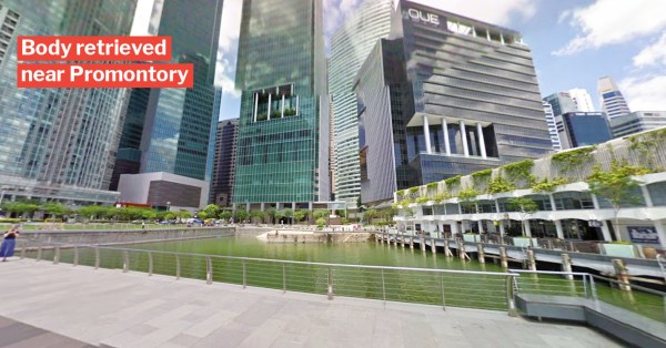 SCDF Gets Call For Help At Marina Reservoir, Ends Up Finding Man's Body Underwater