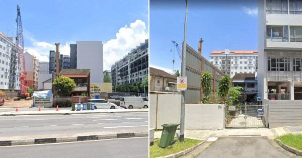 Geylang Resident Refuses To Sell Terrace Bought By Late Mum, Condo Developers Build Around It
