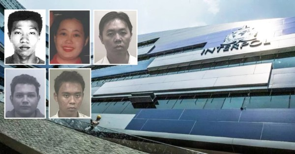 5 S'poreans Currently On Interpol's Wanted List, 1 Is An Ex-CID Detective