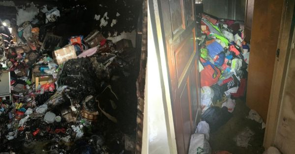 Ang Mo Kio Resident Passes Away In HDB Fire, Flames Reportedly Spread Due To Clutter