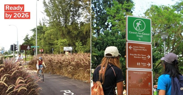 S'pore To Have 4 New Nature Trails Including A 62km Coast-To-Coast Route From Changi To Tuas