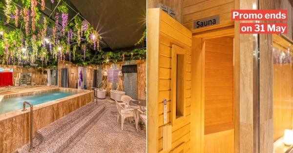 Paya Lebar Spa Has $28 Pass To Steam Room, Onsen & Saunas So You Can Unwind After Work