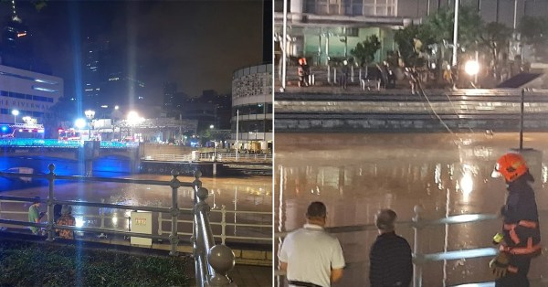 2 Bodies Found In S'pore River Near Clarke Quay, Both Confirmed Dead At Scene