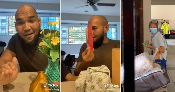 Auntie Gives Neighbour Hari Raya Gifts & Ang Pao, Shows Racial Harmony Is Still Alive In S'pore