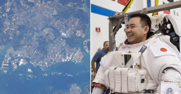 Japanese Astronaut Captures S'pore From Space, Says He Once Studied Here For 2 Years